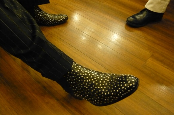 The Trouble Pilgrims-Paddy Goodwins Shoes- Friday-Photo Tony St Ledger
