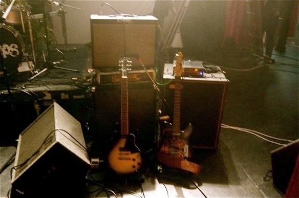 The Trouble Pilgrims - Tony St Ledger-Guitar Set Up